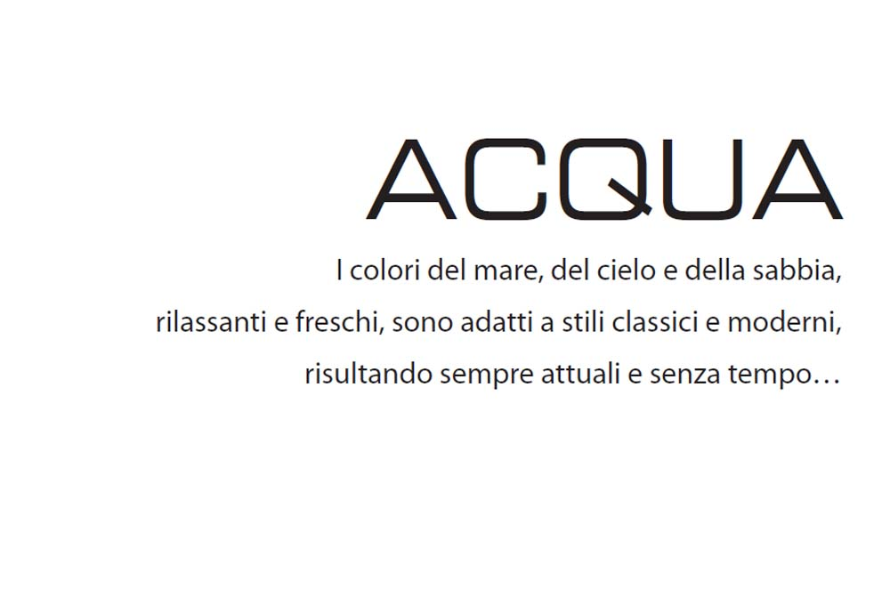 acqua text